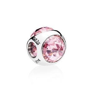 Pandora Pink Sparkling Water Droplets Charm